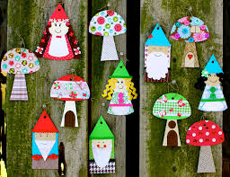 smart bottom enterprises gnome and mushroom banner craft kit