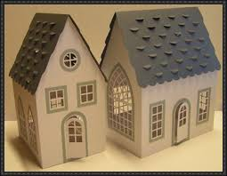 House Free Building Paper Model Download 3d House Building Free