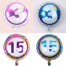 birthday balloons for men aliexpress buy 18 inch number foil balloons digit helium
