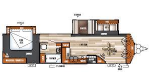 Salem Campers Floor Plans Salem Villa Classic Rv Michigan Salem Villa Classic Dealer Rv Sales