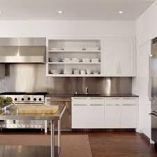 stainless kitchen backsplash stainless steel backsplash houzz steel backsplash feel based designs