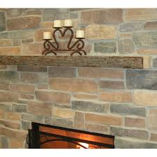 Fireplace Mantel Shelf Pictures by Kettle Moraine Hardwoods Morton Rustic Fireplace Mantel Shelf