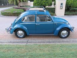 volkswagen beetle blue 1965 volkswagen beetle u2014 a nicely restored sunroof bug finished