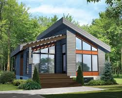 vacation cabin plans house affordable modern cabin plans with insulating sloped roof