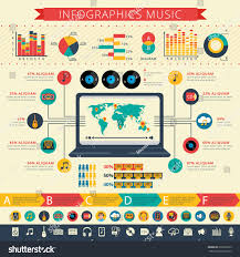 World Wide Map Worldwide Nostalgic Retro Music Apps Users Stock Vector 269928275