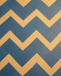 chevron pattern in blue how to create a tabletop chevron pattern sunset magazine