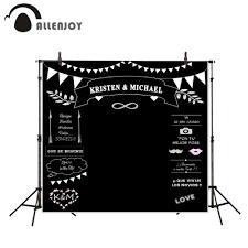 Wedding Backdrop Background Photocall Wedding Theme Backdrops Blackboard For Photo Studio