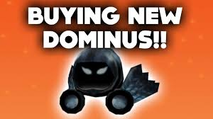 buying the new dominus on roblox 31 000 robux halloween gift