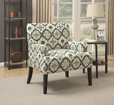 How To Reupholster Accent Living Room Chair Coaster 902622 Accent Chair Blue Green Kaleidoscope Pattern Upholstery