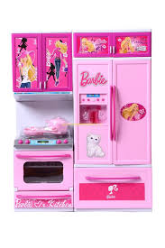 buy barbie kitchen set light u0026 sound for girls at lowest price