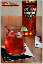 Southern Comfort Whiskey Or Bourbon Red Dawn A Three Ingredient Cocktail With Southern Comfort
