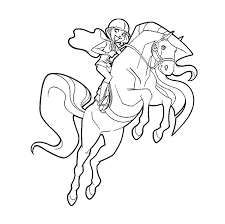 horseland coloring pages coloring