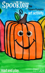 Free Printable Halloween Crafts For Kids Spookley The Square Pumpkin Inspired Drawing Pumpkin Crafts