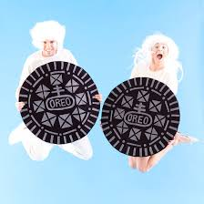 how to make a double stuffed oreo costume with your boo for