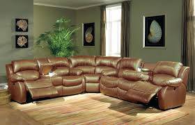 Tufted Sectionals Sofas by Bonded Leather Recliner Sectional Sofa Reclining Sectional Cup