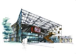 architecture sketch blog photo architectural color renderings