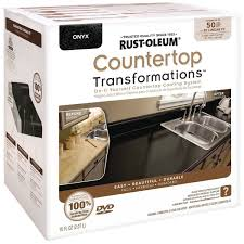 50 Sq Ft Rustoleum 258284 Onyx Countertop Transformations Kit Covers 50 Sq