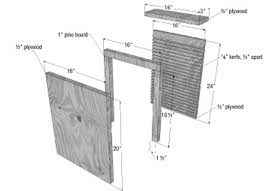 simple bat house plans home office