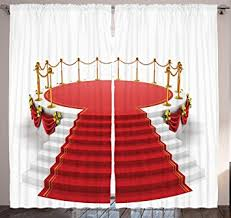 White Gold Living Room Theater Amazon Com Home Decor Concert Theatre Stage Drapes Silver Gold
