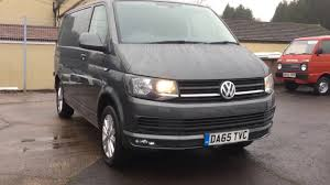 volkswagen minivan 2016 2016 volkswagen transporter t6 van review youtube