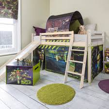 Tent Cabin by Teenage Mutant Ninja Turtles Cabin Bed With Slide And Tent In Tmnt