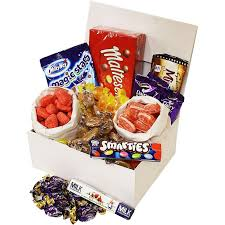 get well soon gifts get well soon gift box handy candy from the uk retro sweet