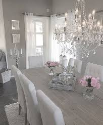 White Shabby Chic Chandelier by Best 25 Shabby Chic Dining Room Ideas On Pinterest Shabby Chic