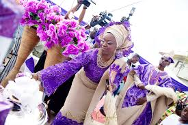 Traditional Marriage Decorations Purple And Beige Traditional Wedding Aisle Perfect