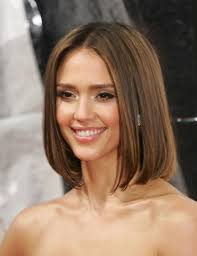 jessica alba long bob hairstyle classic soft long bob hairstyle