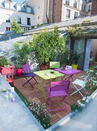 Salon De Jardin Pour Balcon by De La Couleur Pour Mon Salon De Jardin U2013 Visitedeco