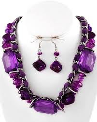 purple stone necklace set images 25 best semi precious stone jewelry images necklace jpg
