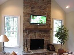 Mounting A Tv Over A Gas Fireplace by Tv Over Fireplace Ideas Randy U0027s Home Theater Television And