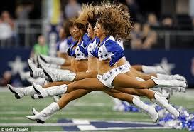 Cowboys Cheerleader Halloween Costume Super Athletic Grandmother 55 Hopes Nfl U0027s Oldest