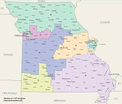 us house of representatives district map for arkansas missouri s congressional districts
