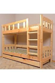 letto a legno massello letto a in legno massello inez con materassi e cassetto 18