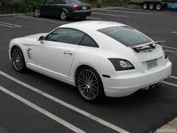 chrysler crossfire white with black rims wallpaper 1024x768 7137