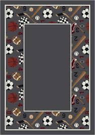 milliken activity good sport border rug kids rugs clip art library