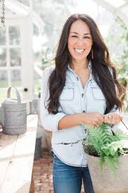 joanna gaines has turned her kitchen into a paradise for plants