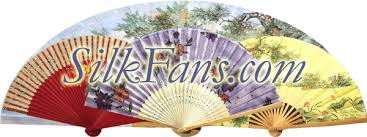 silk fan fans silk fans asian japanese silk