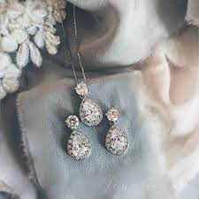 necklace gift sets images Wedding jewellery bridesmaids gift set bridal earrings necklace jpg