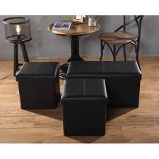 Upholstered Storage Ottoman Buy Fryth Leather Upholstered Storage Ottoman