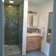 ideas for bathroom tile stand up shower designs bathroom with bamboo cabinet stand up shower