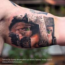 spartan warrior tattoo by sunny bhanushali at aliens tattoo india