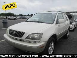 lexus suv used for sale used 2000 lexus rx 300 suv 5 doors car for sale at auctionexport