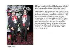 Halloween Band Costumes 20 Fun Celeb Inspired Halloween Costume Ideas Fashiontribes