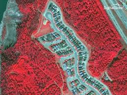 Alberta Wildfire Satellite Images by Striking Satellite Images Show Fort Mcmurray Before And After Wildfire