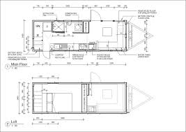 Floor Plan Of A House With Dimensions Building A Tiny House Resilience