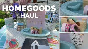 home goods haul youtube