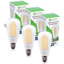 ariustek s21 5w vintage edison led filament light bulb warm 2200k