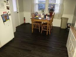 Black Vinyl Plank Flooring Trafficmaster Ultra 7 5 In X 47 6 In Aspen Oak Black